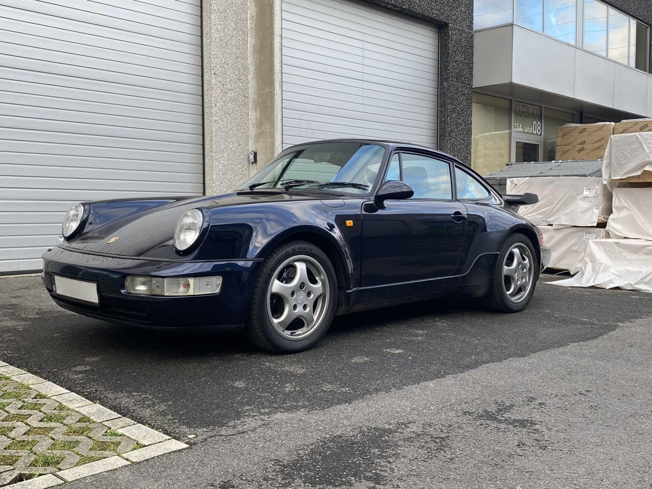 youngtimer.one - Porsche 964 turbo - Nachtblau - 1991 - 1 of 3