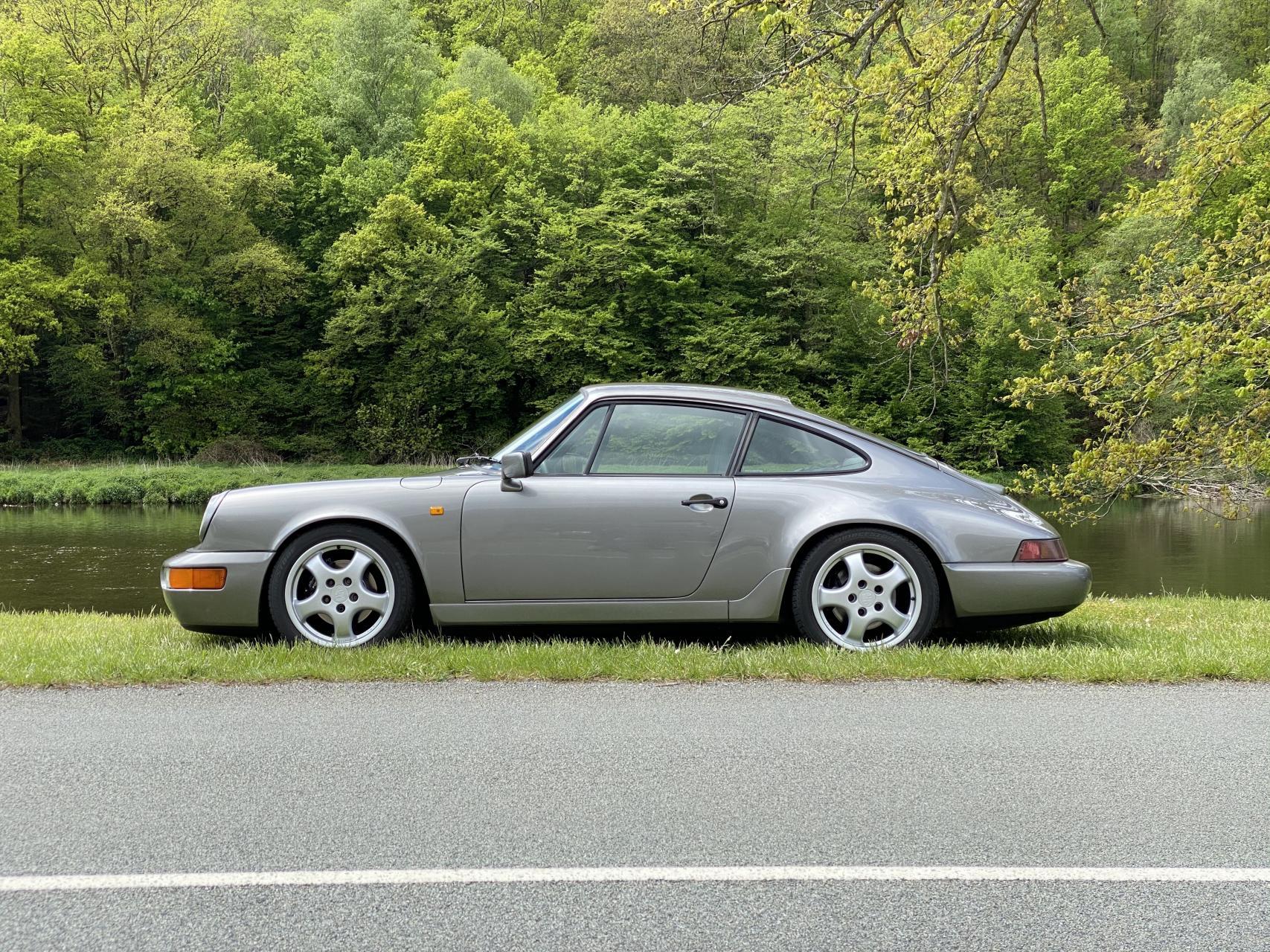 youngtimer.one-Porsche-964-Carrera-2-Stone-Grey-1990-1-of-1