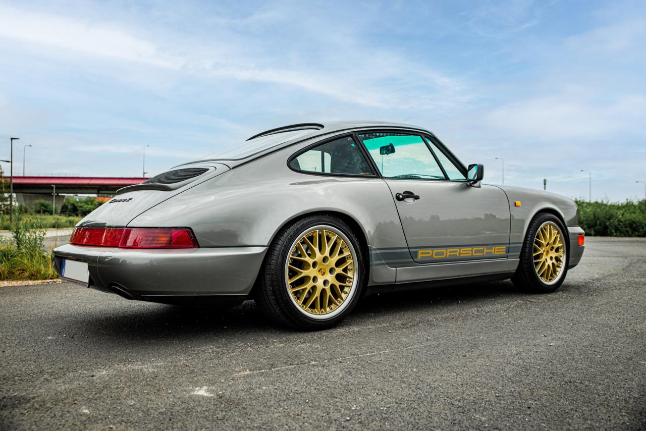 youngtimer.one - Porsche 964 Carrera 2 - Stone Grey - 1990 - 1 of 13