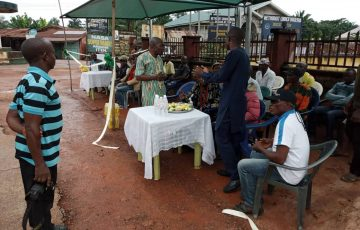 Youth Party Abia Constructs Place of Refuge for Motorcycle Operators in Item, Bende LGA