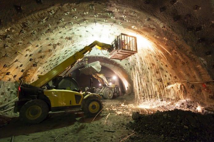 tunnel arbeid