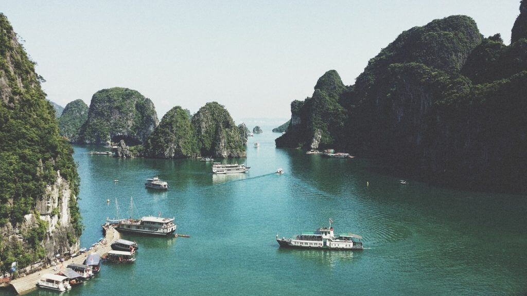 Kusten i Vietnam
