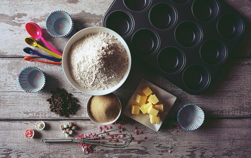 Ingredienser till vår tårta