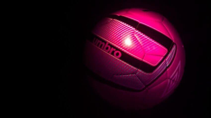 rosa fotboll