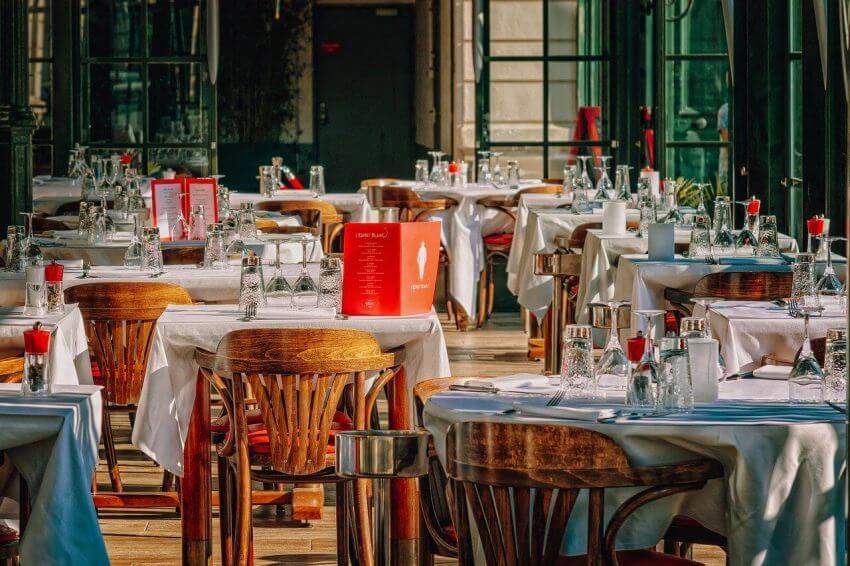 design av restaurangmöbler