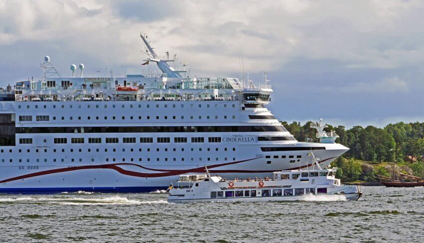 Viking Lines Cinderella på väg till Åland