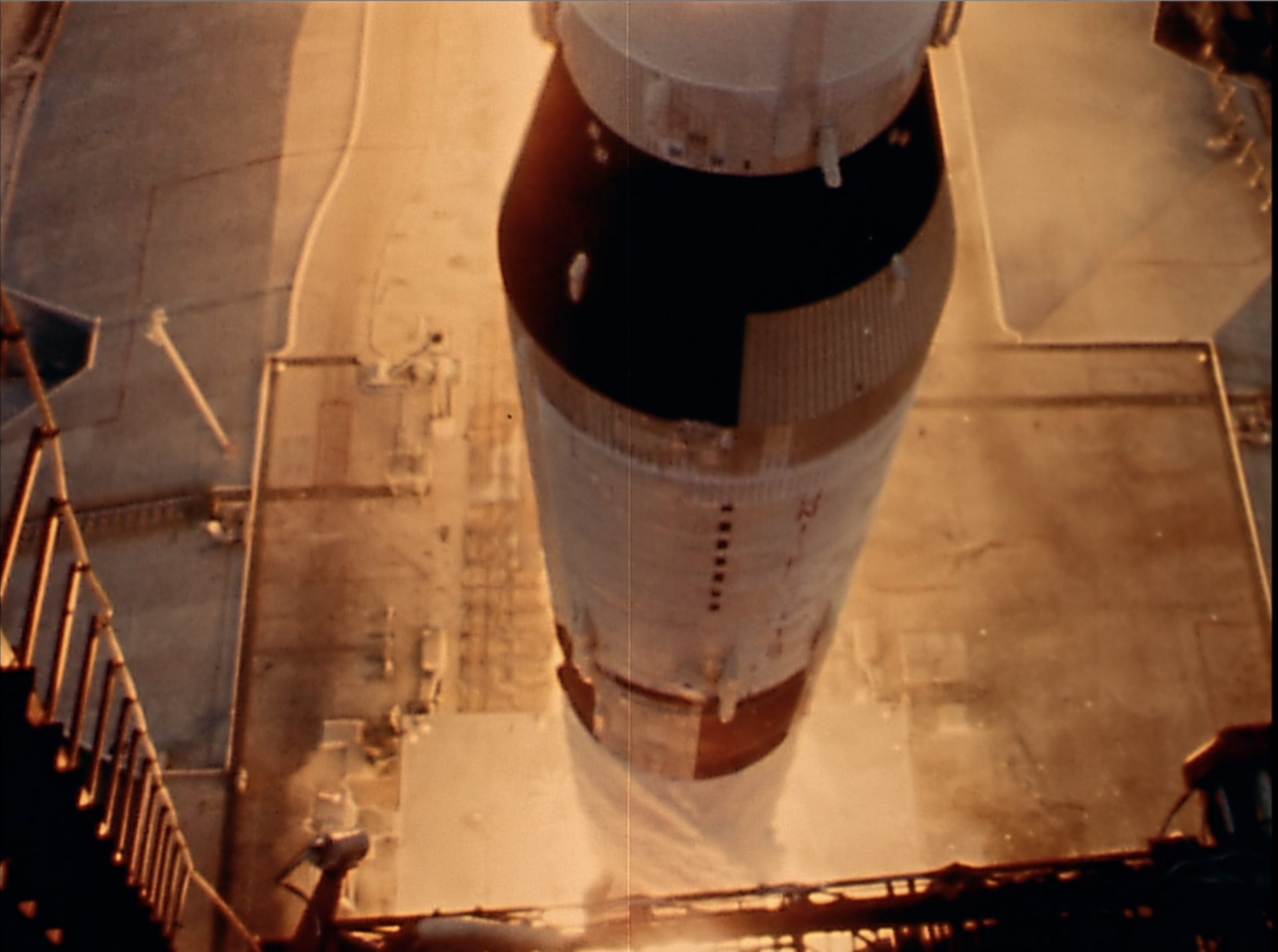 Apollo 9 Start of Saturn missile