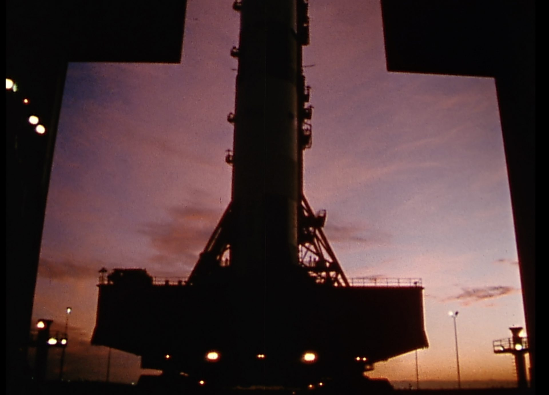 Apollo 9 Start of Saturn missile