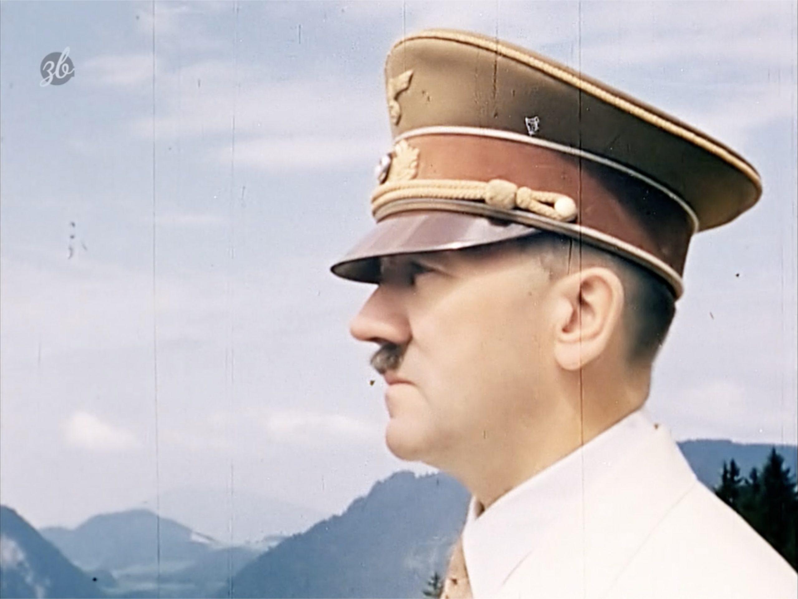 Hitler auf dem Berghof