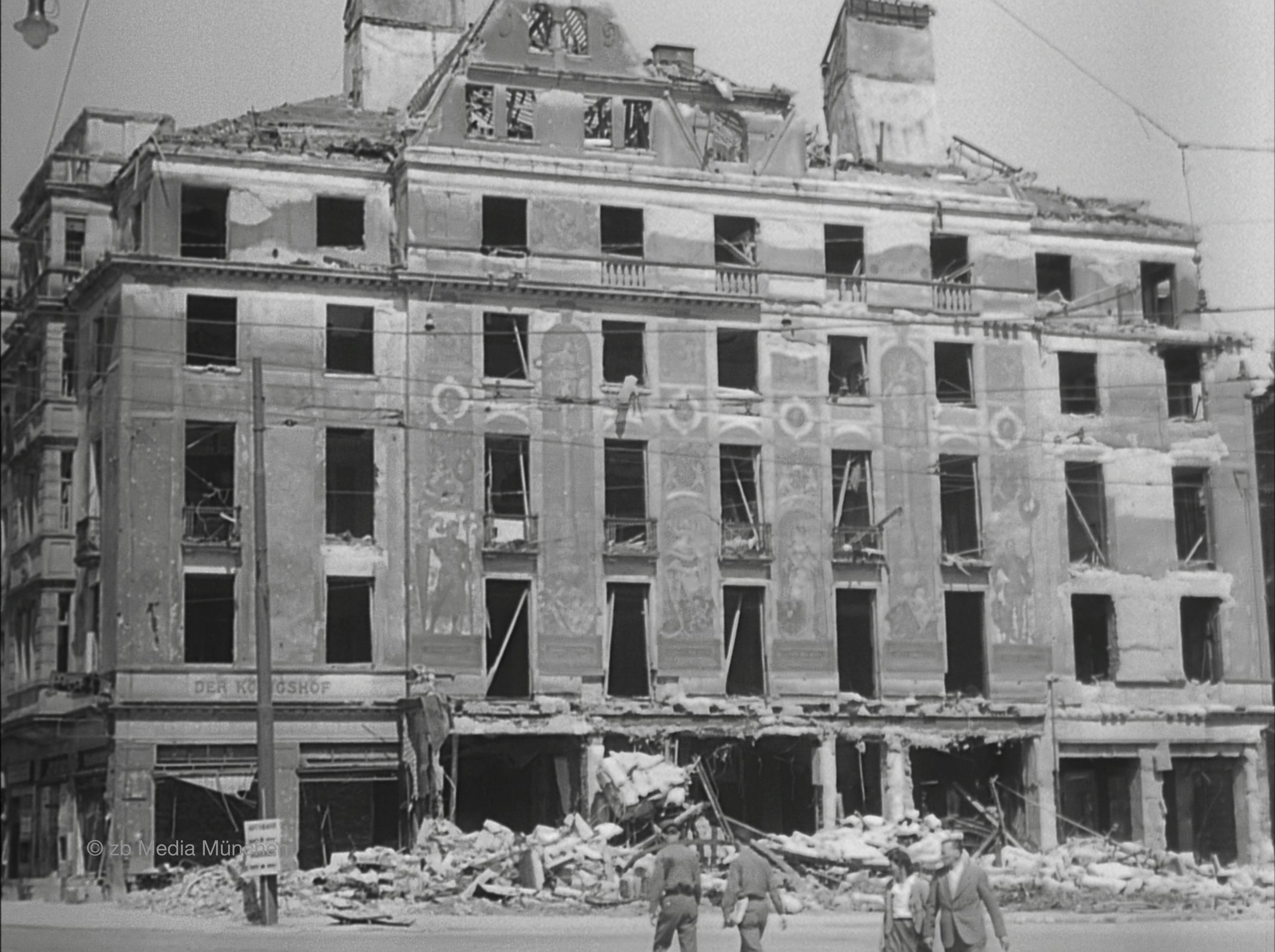 Ruine des Hotel Königshof