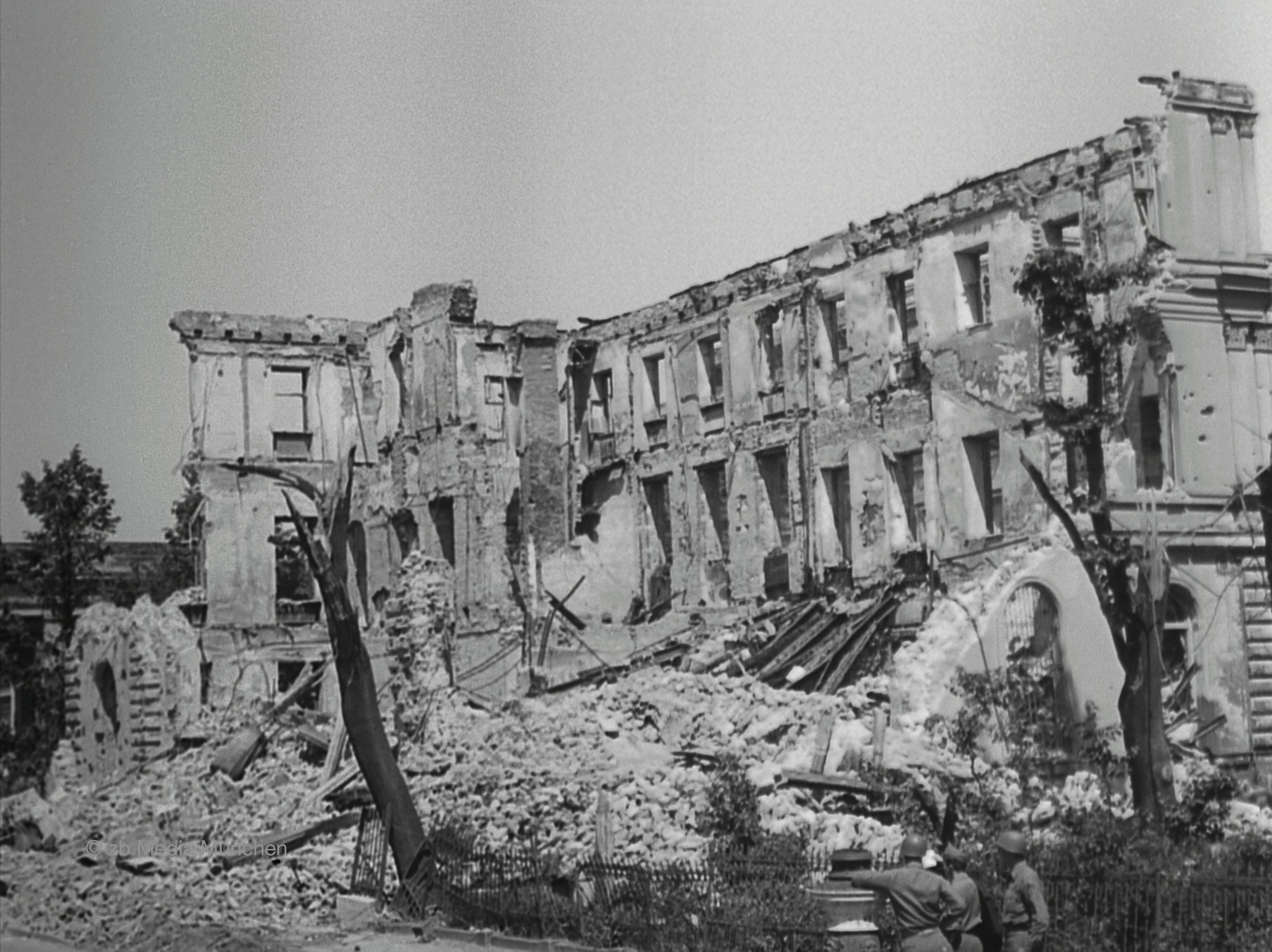 Ruine des Braunen Hauses