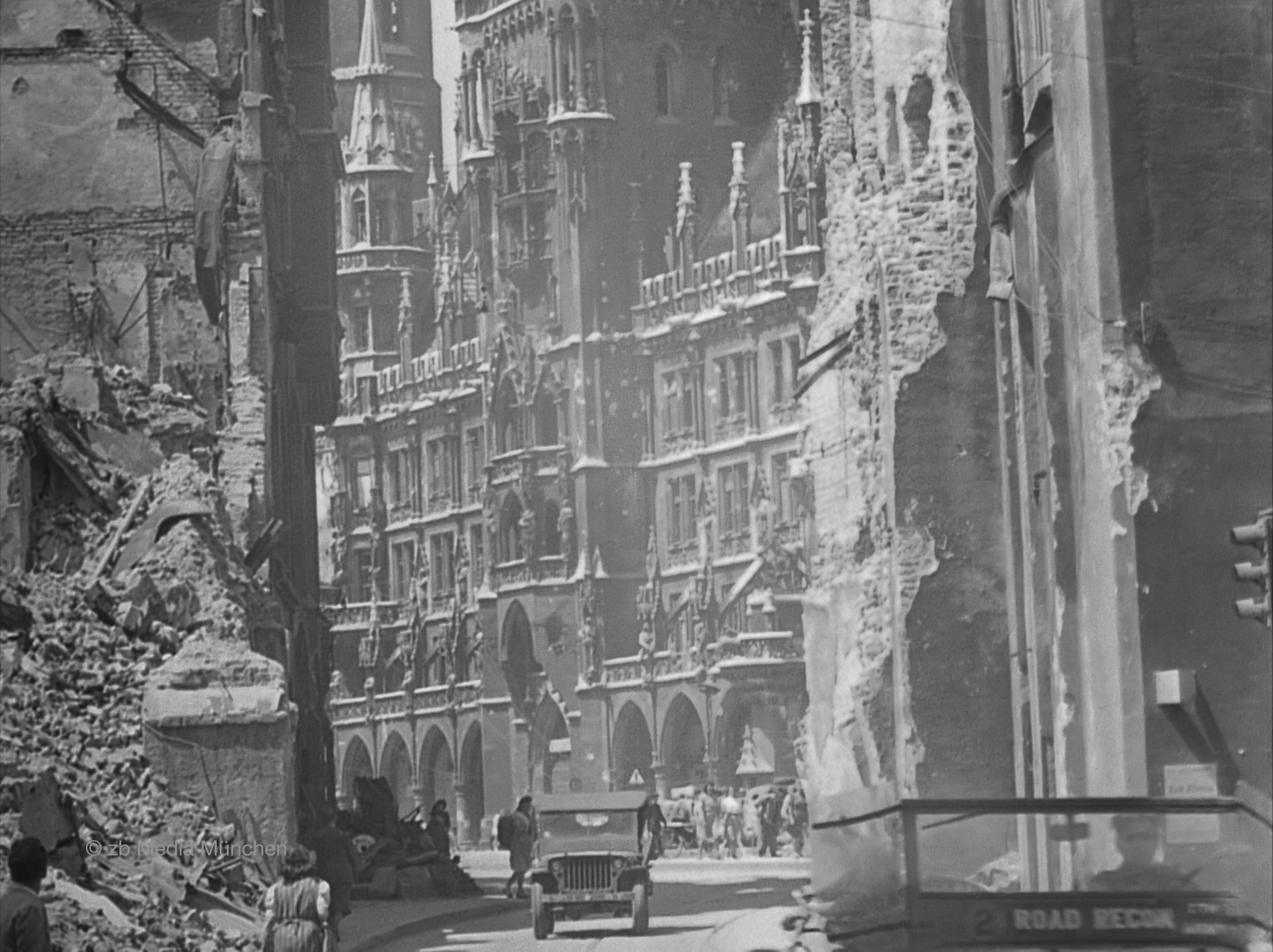 Rathaus München 1945
