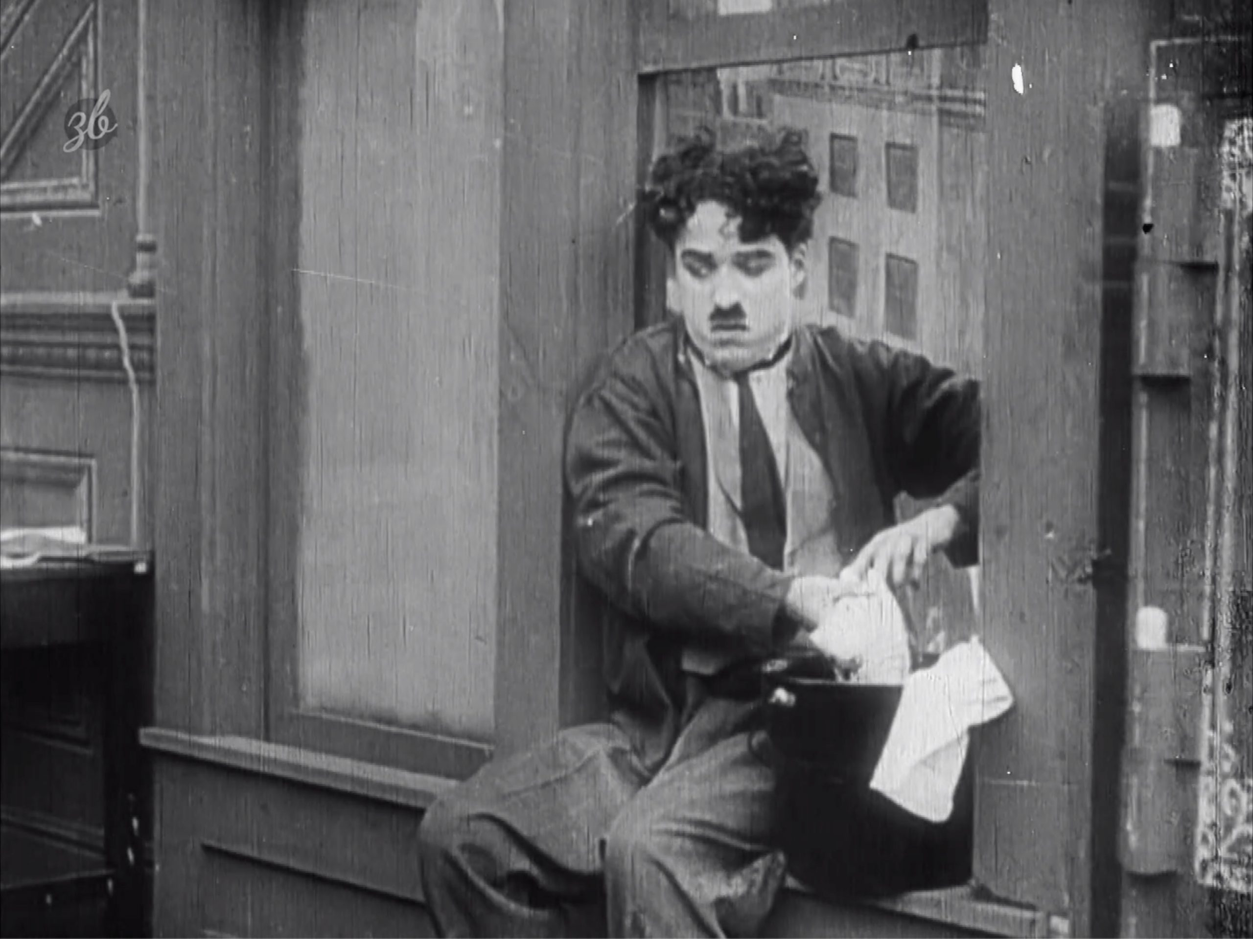 Charly Chaplin - Janitor