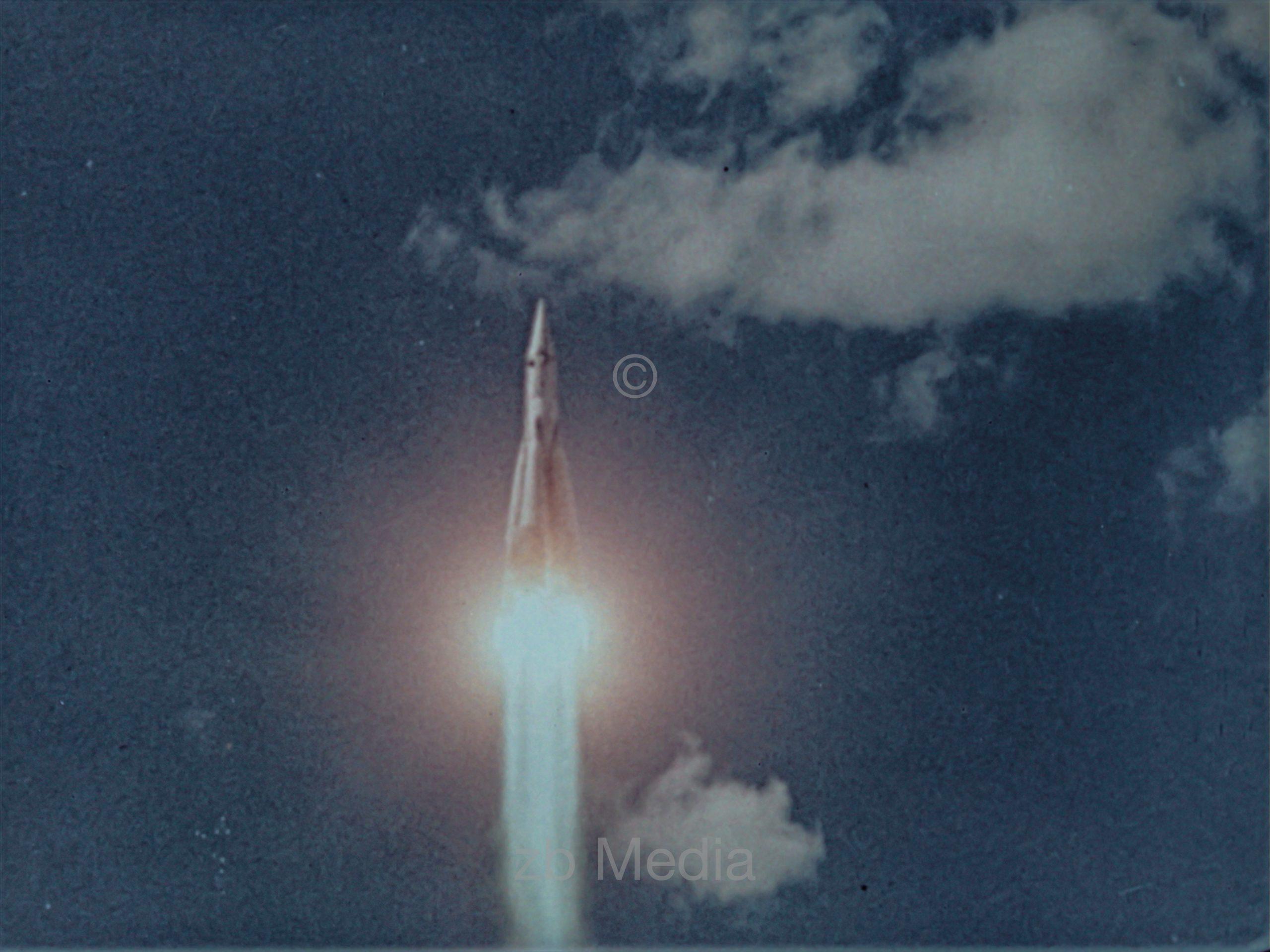 Vostok Rakete startet