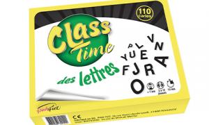 Class Time Lettres, vocabulaire, Pinkfizz