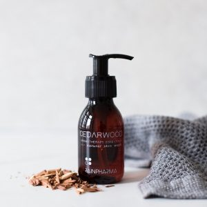 Rainpharma skin wash cedarwood