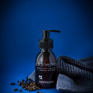 Rainpharma skin wash black pepper 100ml