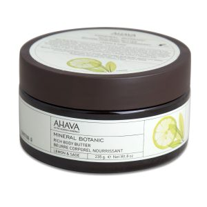 Ahava body butter lemon & sage
