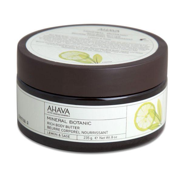 Ahava body butter lemon & sage