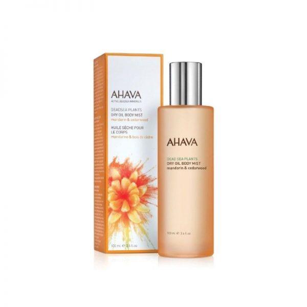Ahava dry oil body mist manadrijn en cederhout