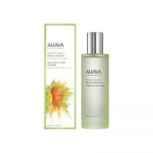 Ahava dry oil body mist prickly pear