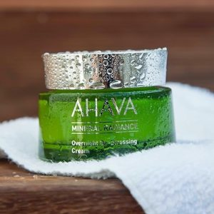 Ahava overnight destressing cream