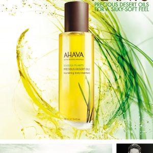 Ahava precious desert oils body