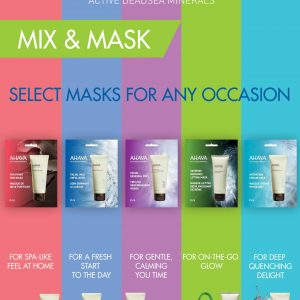 Ahava single masks set
