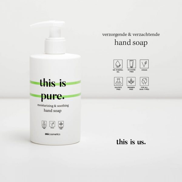 This is us this is pure vegan hand soap 300ml