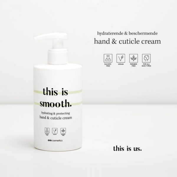 This is us this is smooth hand en cuticle cream 300ml