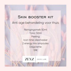 Skin boosters anti age gelaatsverzorging voor thuis