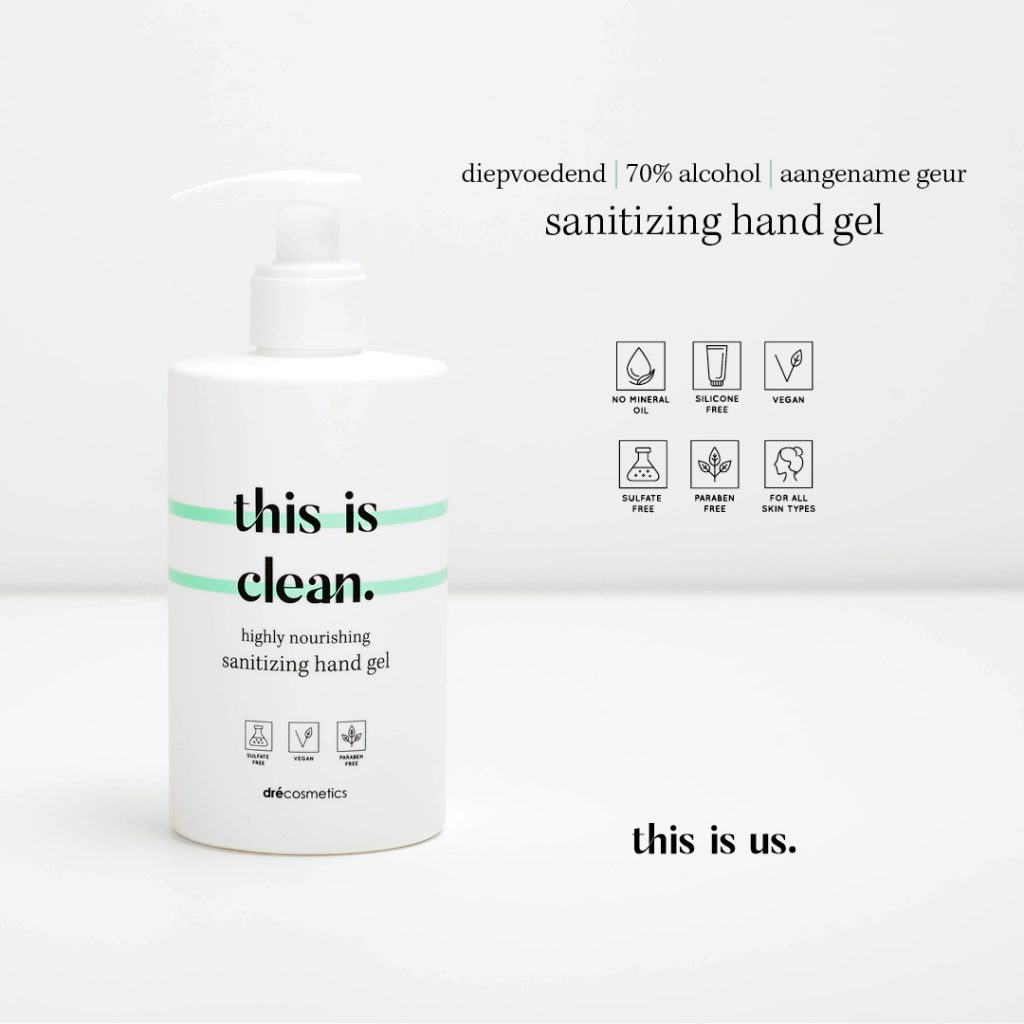 This is clean hand gel