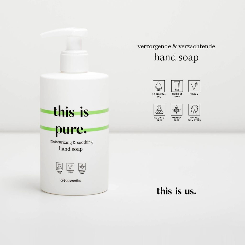 This is pure hand soap