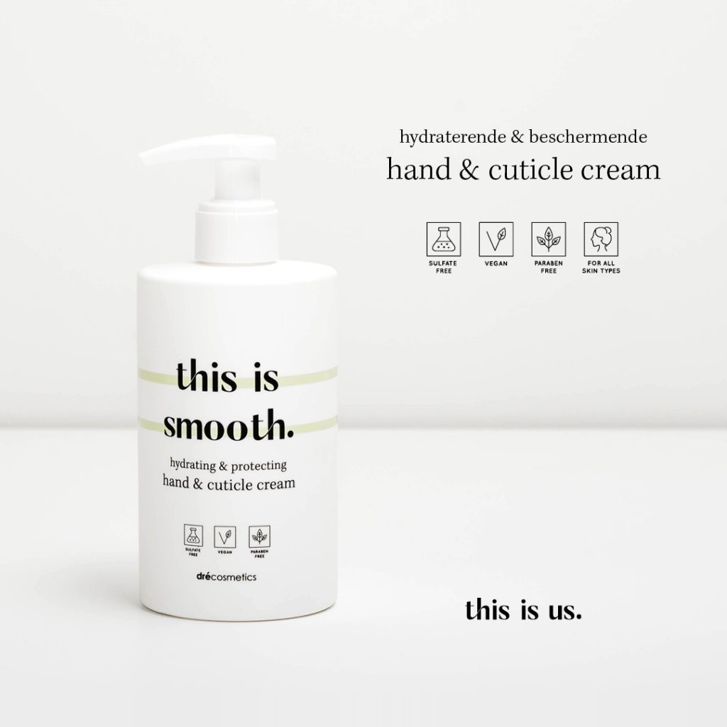 This is smooth hand & nagel cream