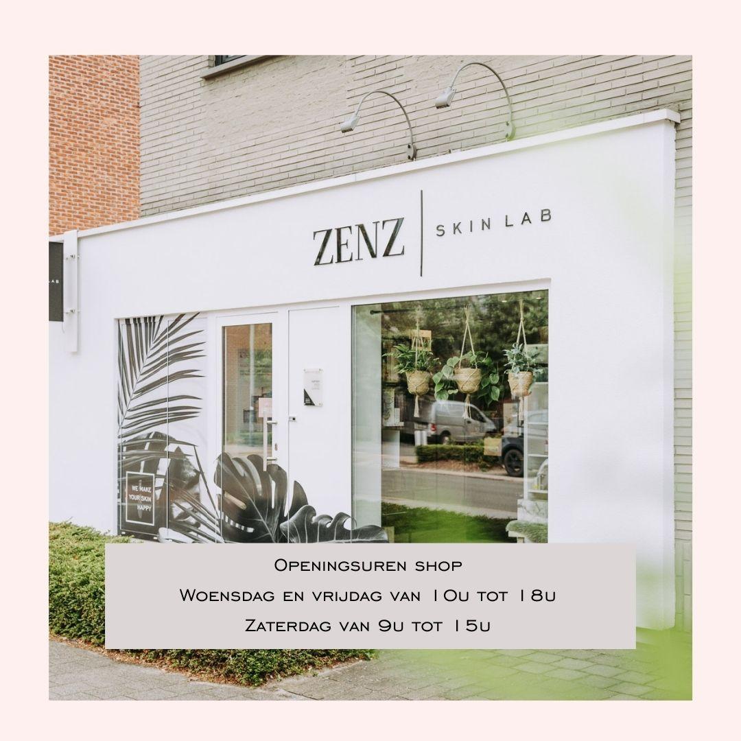 Openingsuren shop zenz skin lab