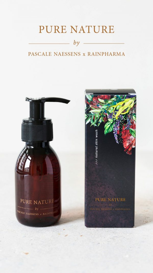 Pascale Naessens Pure Nature skinwash by Rainpharma