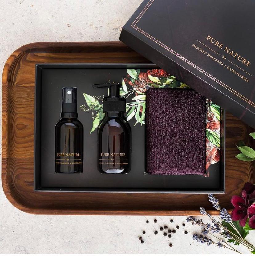 Pascale Naessens Pure Nature box van Rainpharma en Feeling magazine
