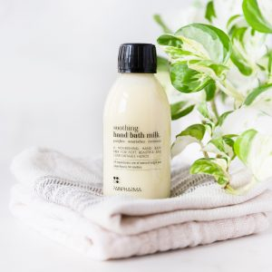 Rainpharma soothing hand bath milk