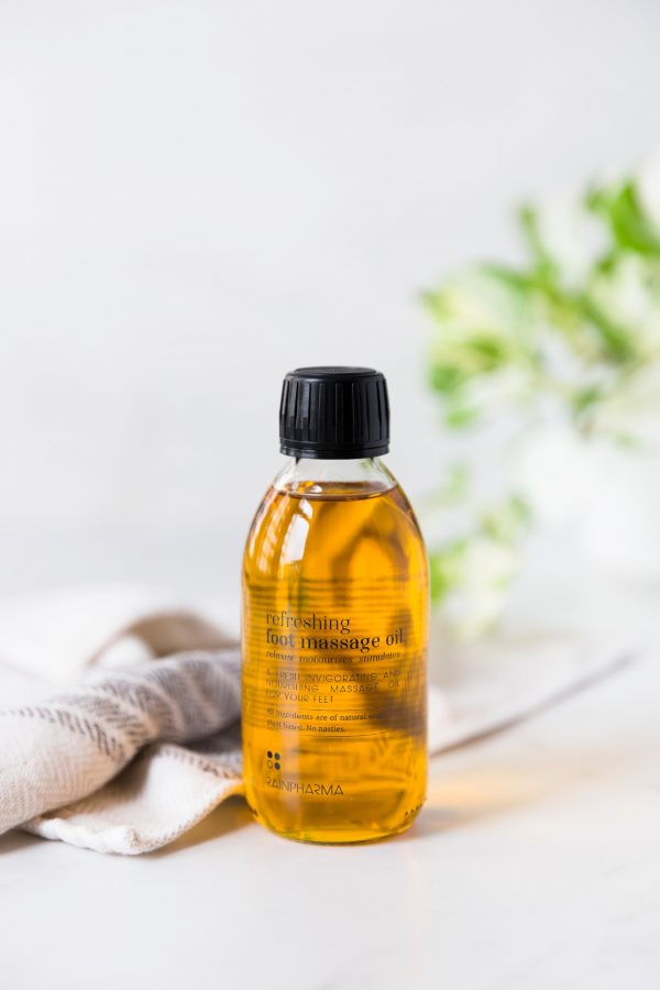 Rainpharma refreshing foot massage oil