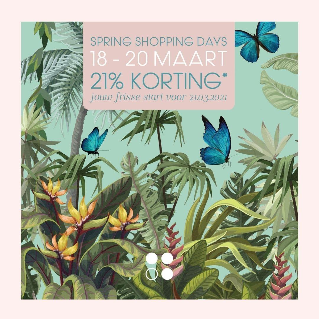 Spring shopping days Rainpharma