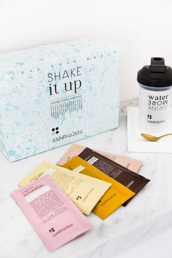 Rainpharma Promo box shakes en goed gevoel