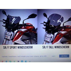 SR/F tall windscherm