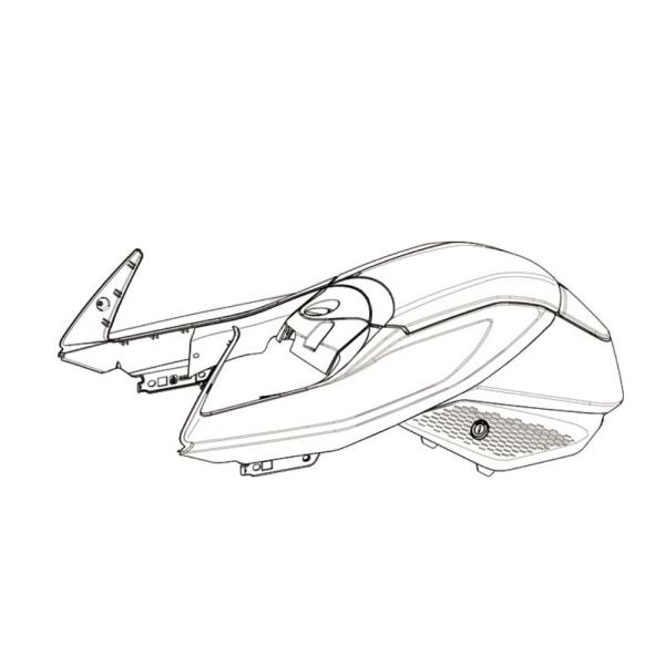 sr/s upper tank assembly