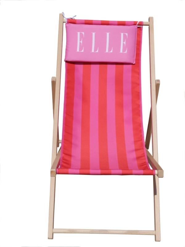 Elle_strandstol med logo_ziwes eye-catching branding