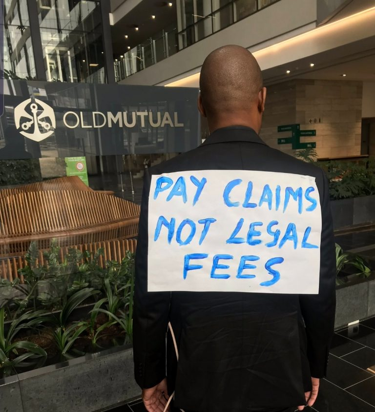 Old Mutual apologises for humiliating 'dead body' incident